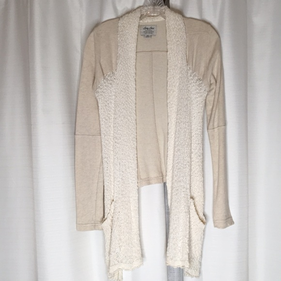 Lucky Brand Other - Lucky Brand Cardigan Shorter in back